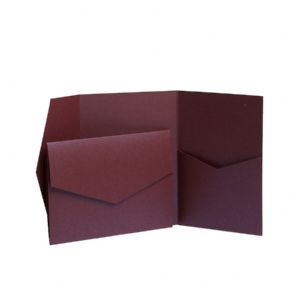 Dinky Debut Deep Plum Pocketfold Kit